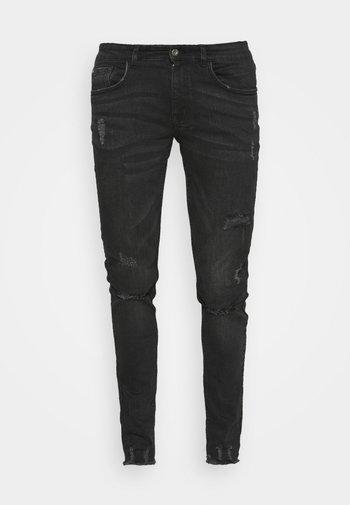 LYON DESTROY - Slim fit jeans - lava stone