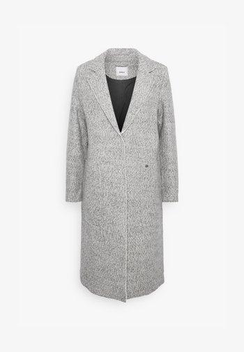 ONLSTACY COAT - Klasický kabát - light grey melange