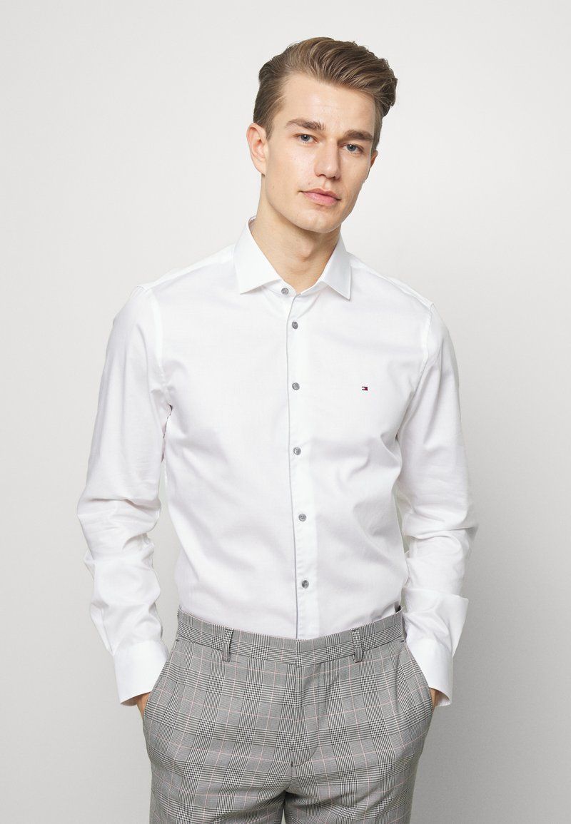 Tommy Hilfiger Tailored - PIPING CLASSIC SLIM  - Formal shirt - white