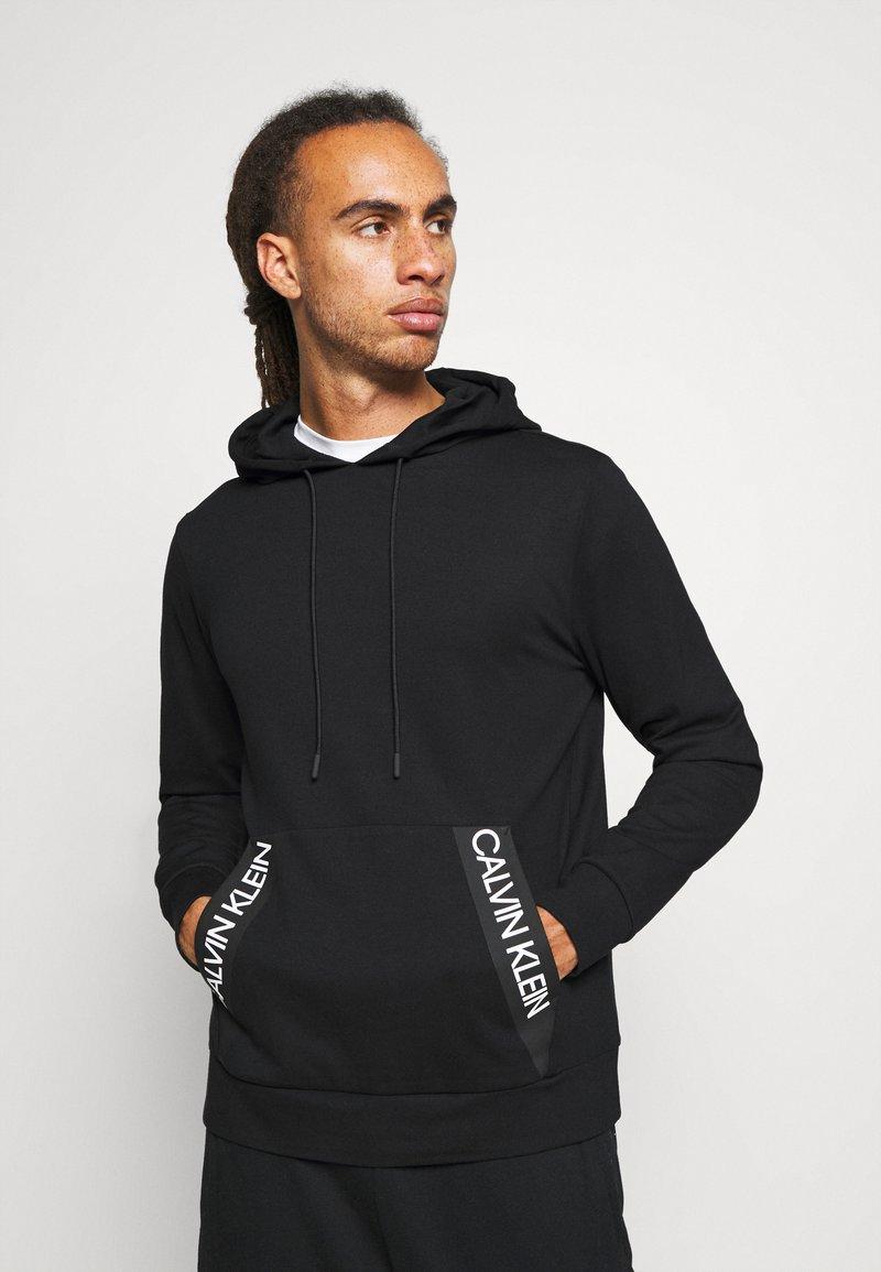 Calvin Klein Performance - HOODIE - Felpa con cappuccio - black
