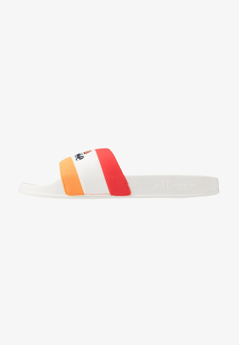 Ellesse - BORGARO - Ciabattine - orange/white/red