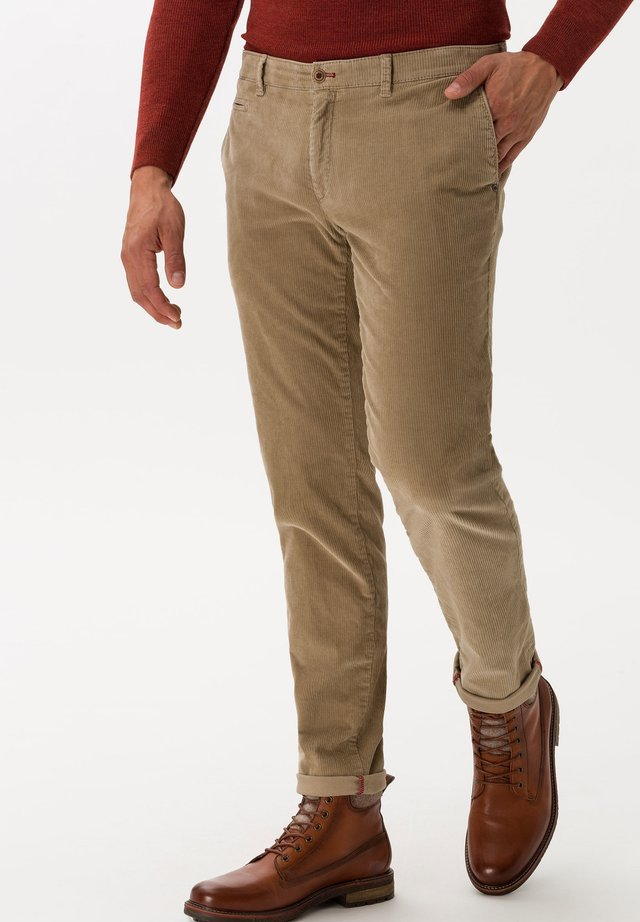 STYLE FABIO IN - Trousers - beige