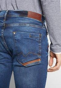 Blend - JET - Slim fit jeans - denim middle blue - 3