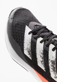 adidas Performance - RAPIDAFAITO SUMMER.RDY - Competition running shoes - core black/footwear white/signal coral - 2