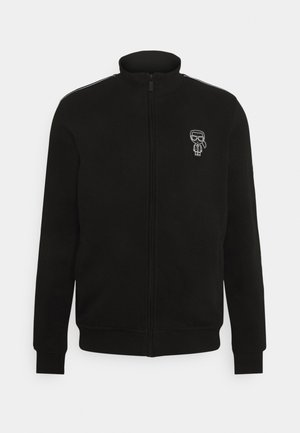 ZIP JACKET - Mikina na zip - black