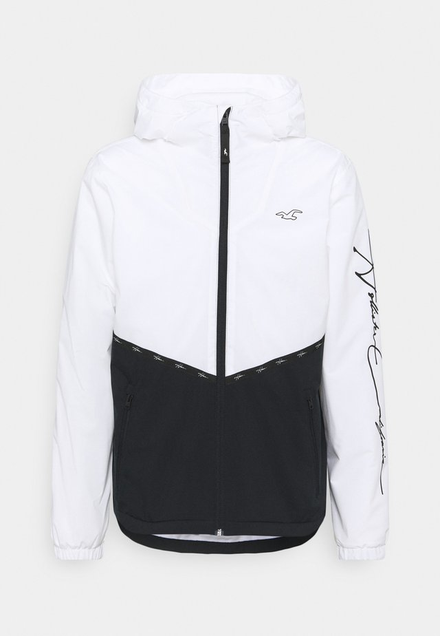 Chaqueta fina - white/black