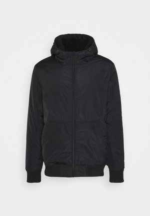 HOODED JACKET - Light jacket - black