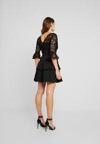 Sista Glam - NOVA - Vestido de cóctel - black - 3