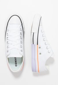 Converse - CHUCK TAYLOR ALL STAR - Trainers - white/agate blue - 3