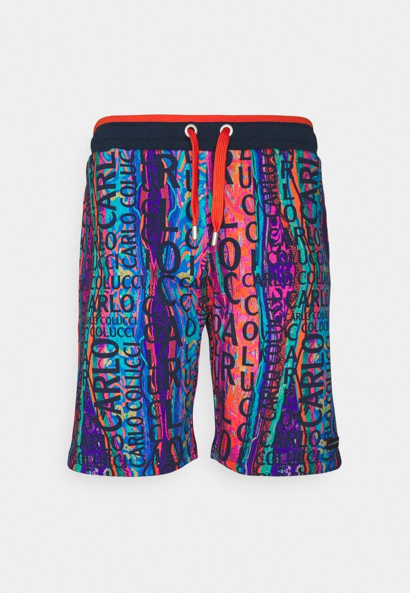 Carlo Colucci - Shorts - navy/multi