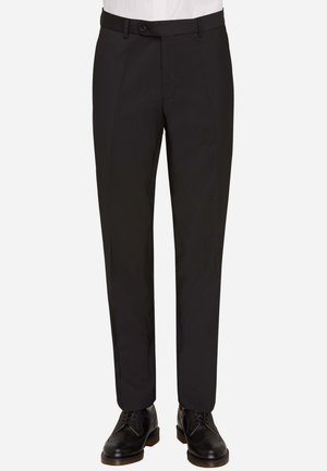 SILVIO - Suit trousers - schwarz