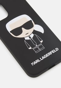 KARL LAGERFELD - IKONIK CASE IPHONE 12 MINI - Handytasche - black - 4