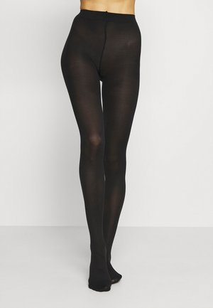 TIGHTS 2 PACK - Panty - black dark