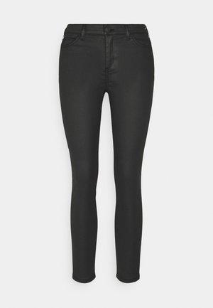 MR SKINNY - Trousers - black