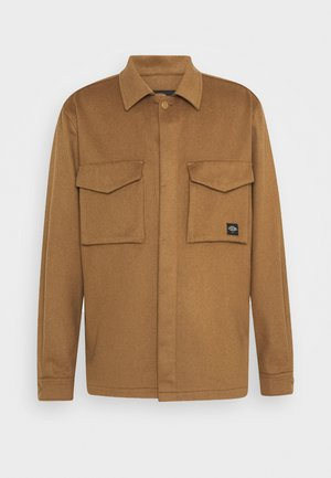 SEASONAL FIT BRUSHED - Summer jacket - camel