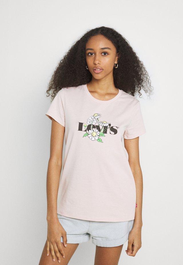 THE PERFECT TEE - Print T-shirt - sepia rose