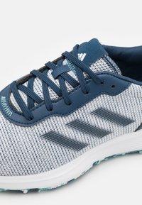 adidas Golf - S2G LACE - Golf shoes - crew navy/footwear white/hazy sky - 5