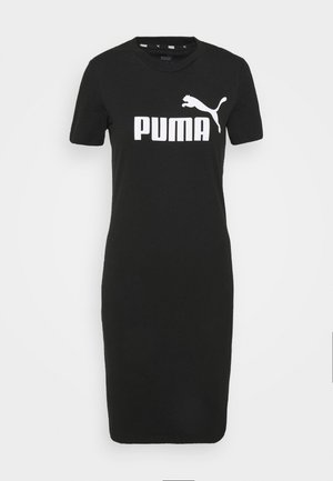 SLIM TEE DRESS - Vestido informal - black