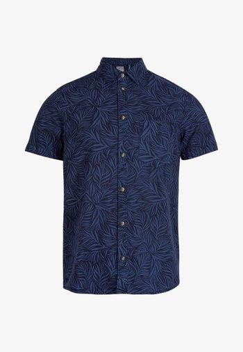 Shirt - blue print