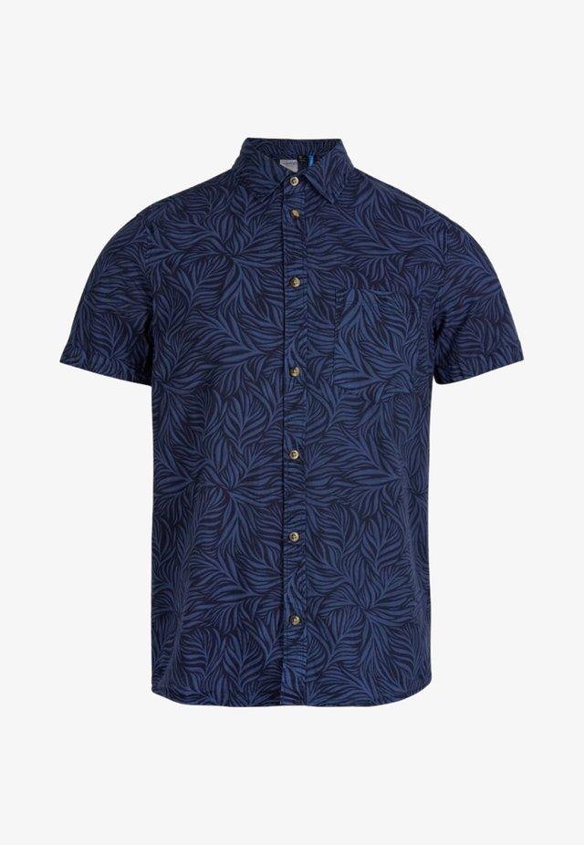 Overhemd - blue print