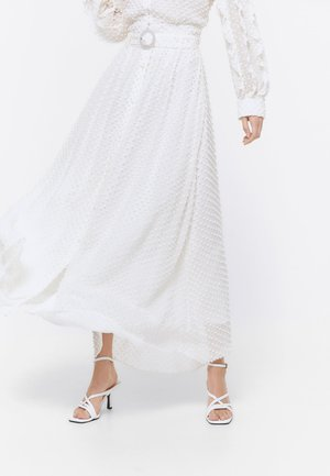 ROCK  - A-line skirt - white