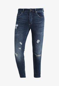Gym King - RIP AND REPAIR - Jeans Skinny Fit - indigo - 4