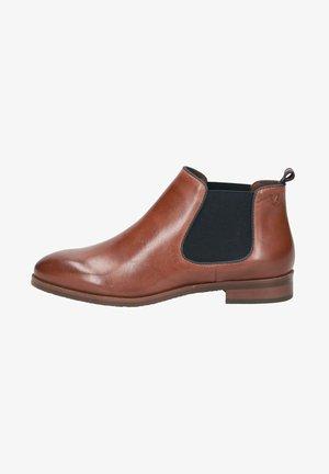 CHELSEA BOOT - Ankle boots - cognac/ocean