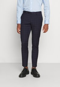 Isaac Dewhirst - CHECK - Completo - dark blue - 4