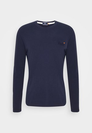 VINTAGE - Long sleeved top - rich navy
