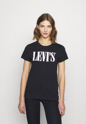 THE PERFECT TEE - T-shirt z nadrukiem - caviar