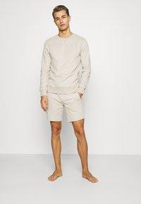 Frescobol Carioca - LEBLON LOUNGEWEAR - Pyjama top - sand - 1