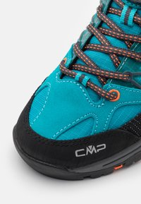 CMP - KIDS RIGEL TREKKING SHOE WP UNISEX - Hiking shoes - rif/antracite - 5