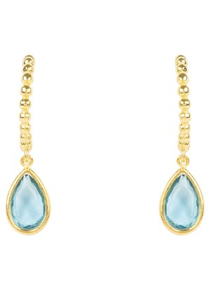 Earrings - bleu