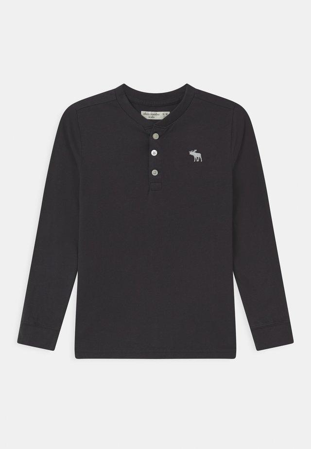HENLEY - Långärmad tröja - dark grey