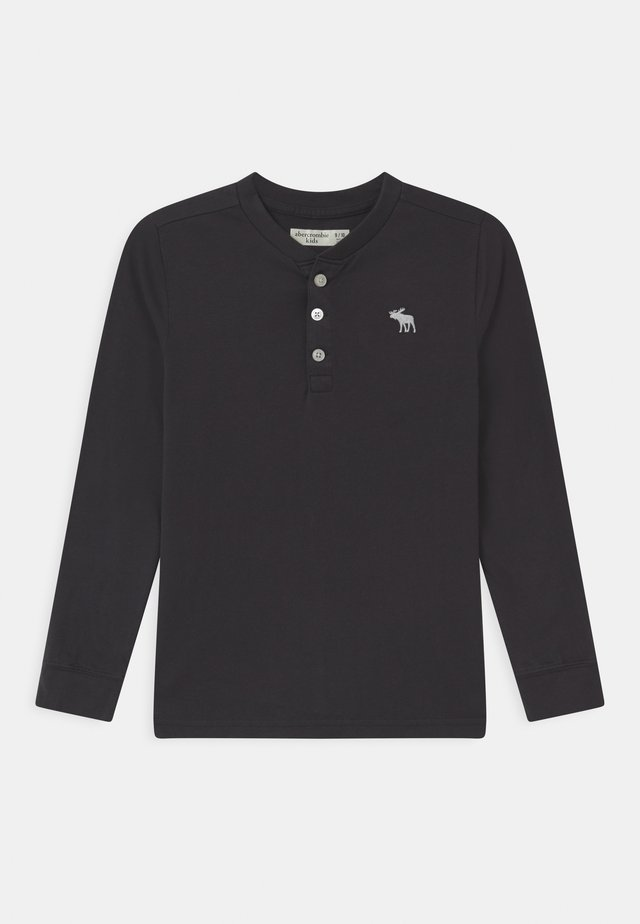 HENLEY - Camiseta de manga larga - dark grey