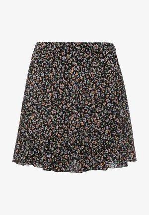 BARCA- - A-line skirt - true black