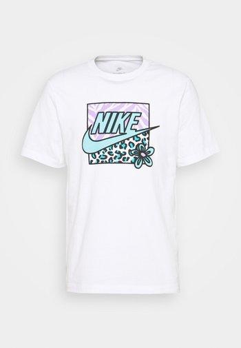 TEE HIGH SUMMER - T-shirt con stampa - white