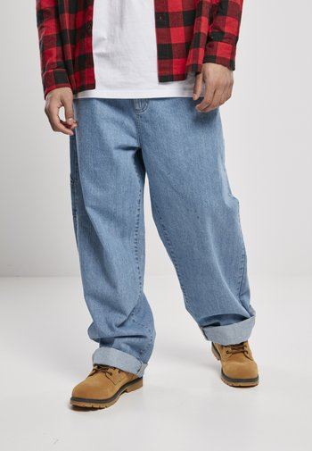 Straight leg jeans - retro mid blue