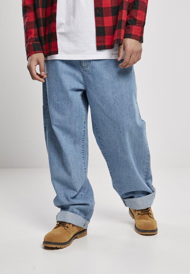 Džíny Straight Fit - retro mid blue