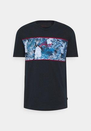 T-shirt imprimé - dark blue