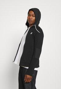 Nike Sportswear - Zip-up sweatshirt - black/ice silver/white - 3