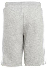 adidas Originals - ADICOLOR - Shorts - medium grey heather/white - 1