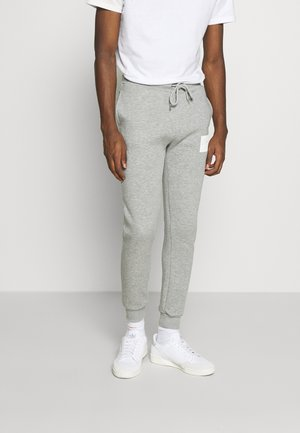 BOX LOGO JOGGER - Tracksuit bottoms - grey
