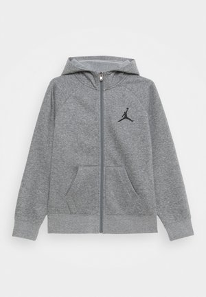 JUMPMAN FULL ZIP - Felpa aperta - carbon heather