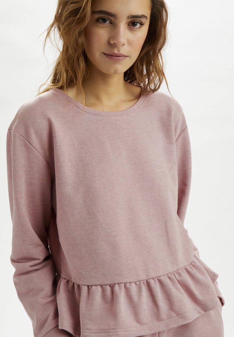 Cream - CRTALLI - Sweatshirt - woodrose melange