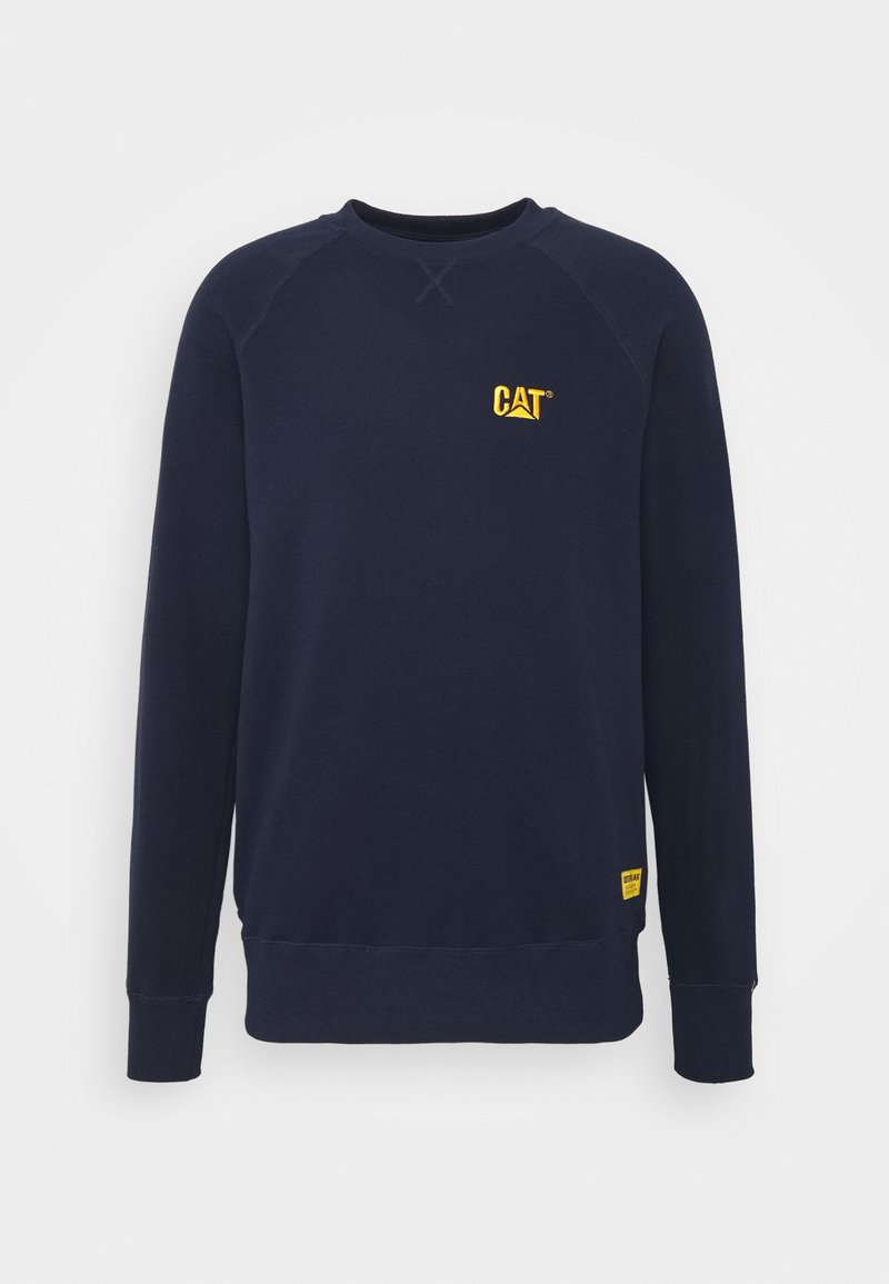 Caterpillar - SMALL LOGO - Sweatshirt - blue