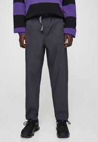 PULL&BEAR - Trousers - black - 0