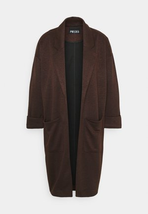 PCDORITA COATIGAN - Short coat - mocha bisque