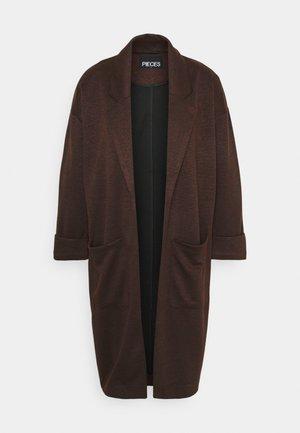 PCDORITA COATIGAN - Krátký kabát - mocha bisque