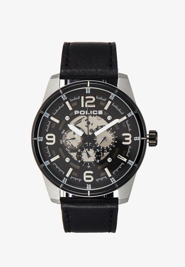 LAWRENCE - Watch - silver/black